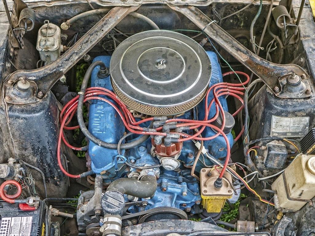 Moteur de voiture (Mustang)
