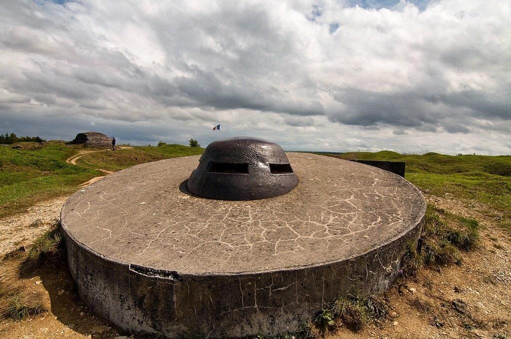 Bunker au fort de Douamont en France