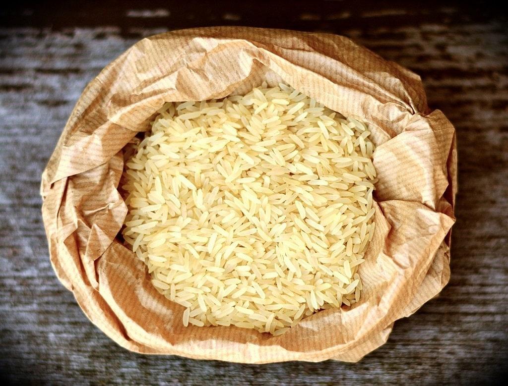 Nourriture de survie non périssable le riz
