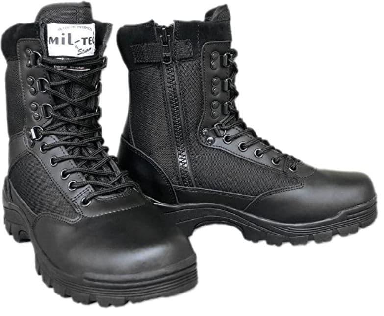 Chaussures de survie à fermeture Éclair YKK Kaki