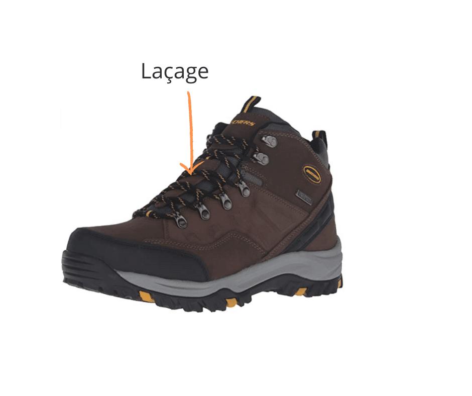 Chaussures de survie: Laçage