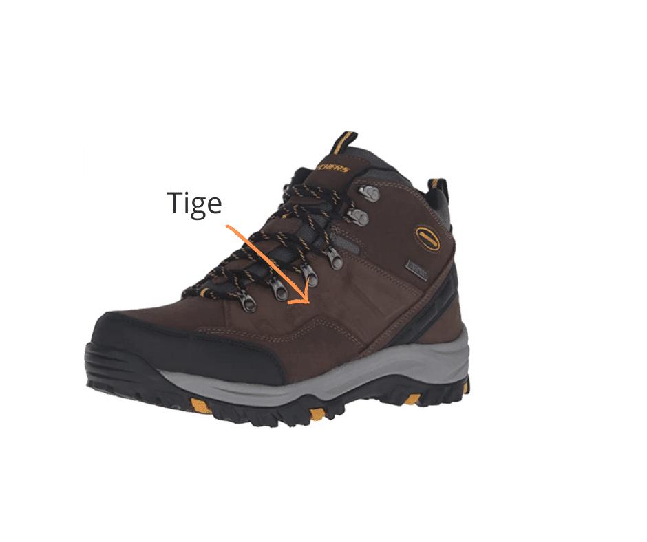 Chaussures de survie Tige