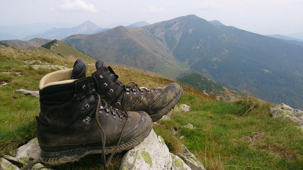 Choisir ses chaussures en fonction du type de terrain: La montagne