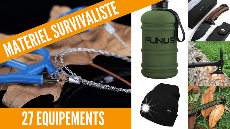 Matériel équipements survivalisme