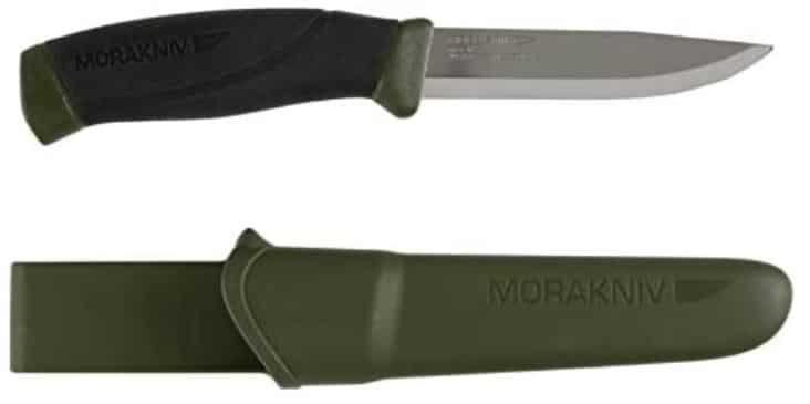 Couteau de survie mora companion
