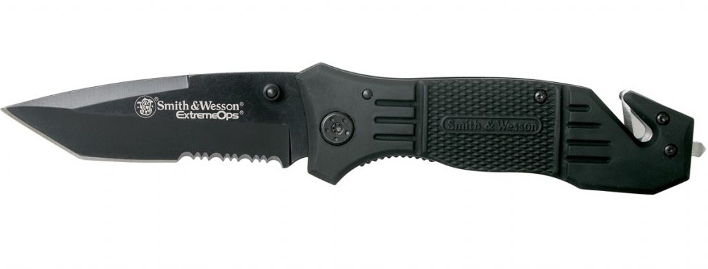 Couteau de survie pliable Smith & Wesson