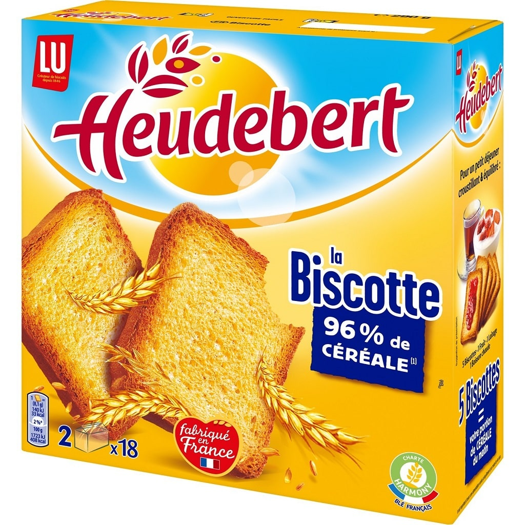 Stock alimentaire survivaliste biscottes
