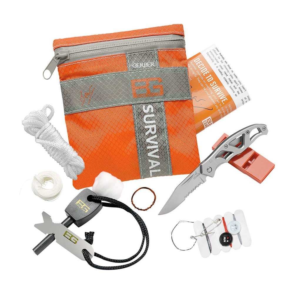 Kit de survie Bear Grills Survival