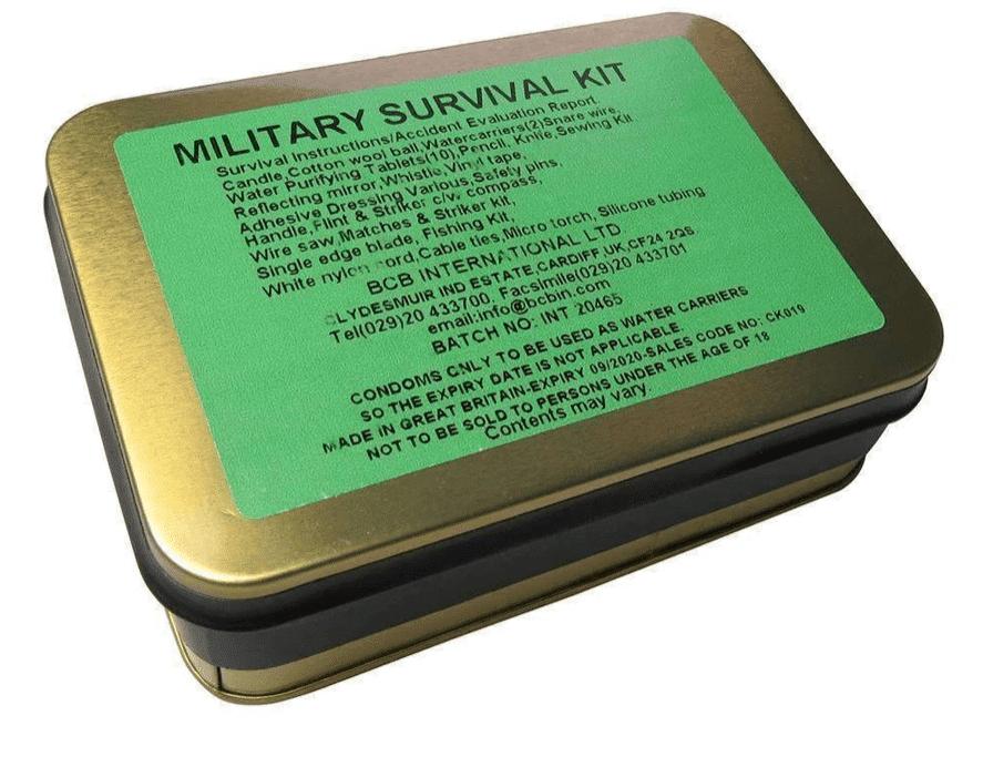 Kit de survie militaire par BCB
