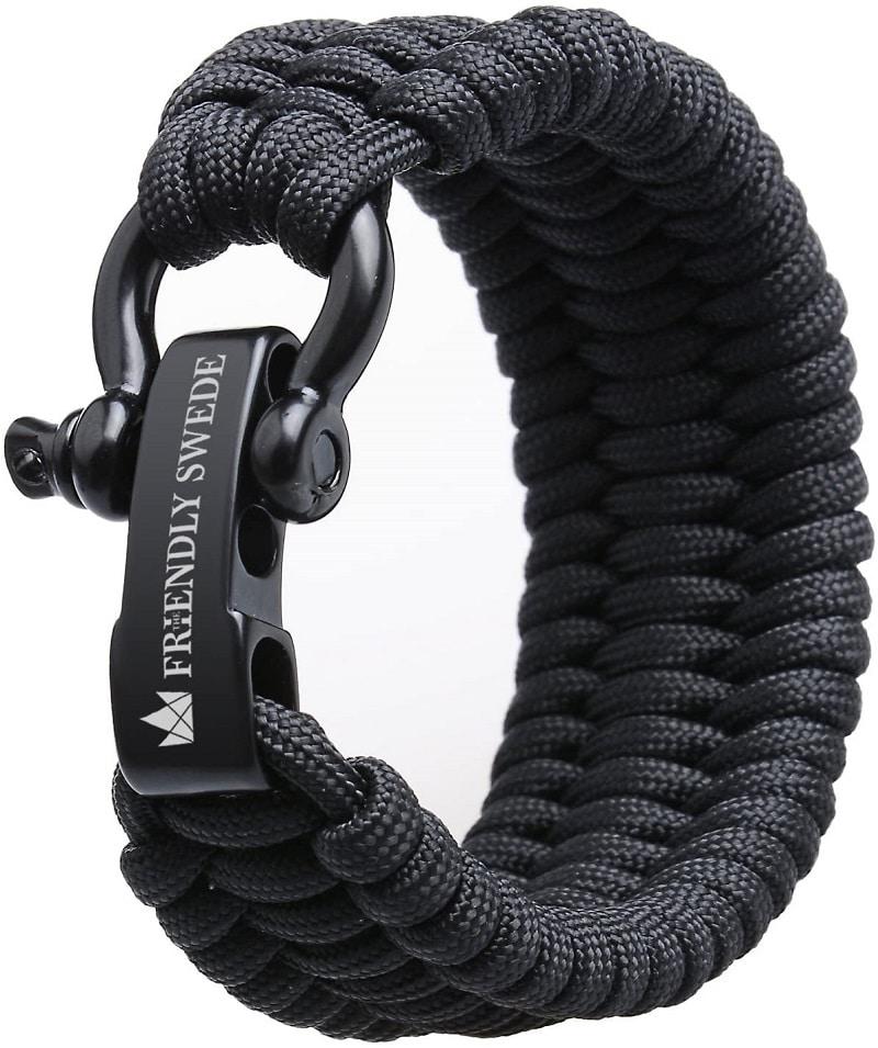 Bracelet de survie avec manille