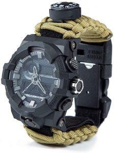 Bracelet de survie avec montre