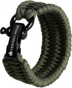 Bracelet de survie militaire