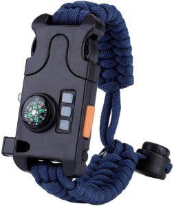 Bracelet de survie multifonction