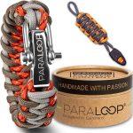Bracelet de survie paracorde avec manille