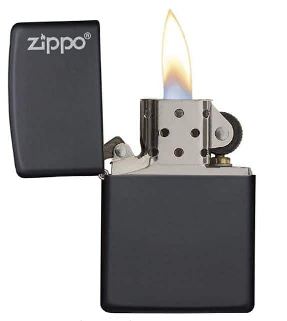 Briquet Zippo pour la survie