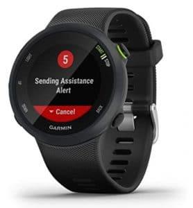 Montre de survivalisme avec GPS garmin