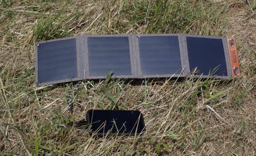 Chargeur solaire portable choetech