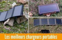 Le Meilleur Chargeur Solaire Portable en 2021: Lequel Choisir ? (Randonnée, Camping...)