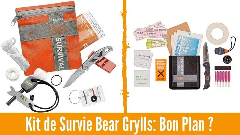 Kit de survie Bear Grylls